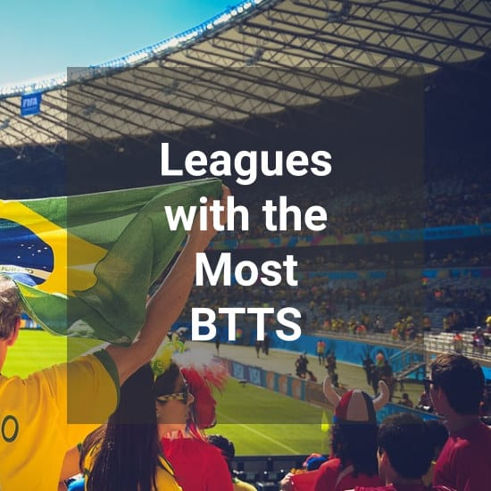 Leagues With The Most BTTS