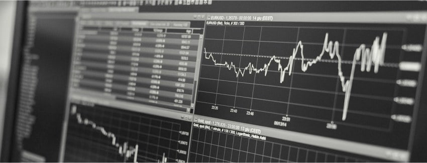 Stock Trading Charts Banner Image